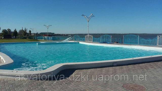 Цельнолитой композитный бассейн 25 м