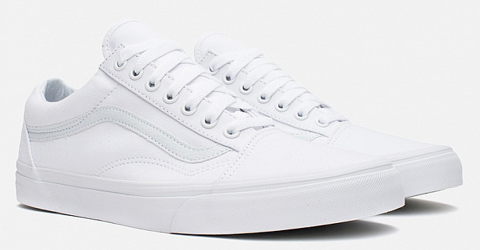 Кеди Vans Old Skool  White