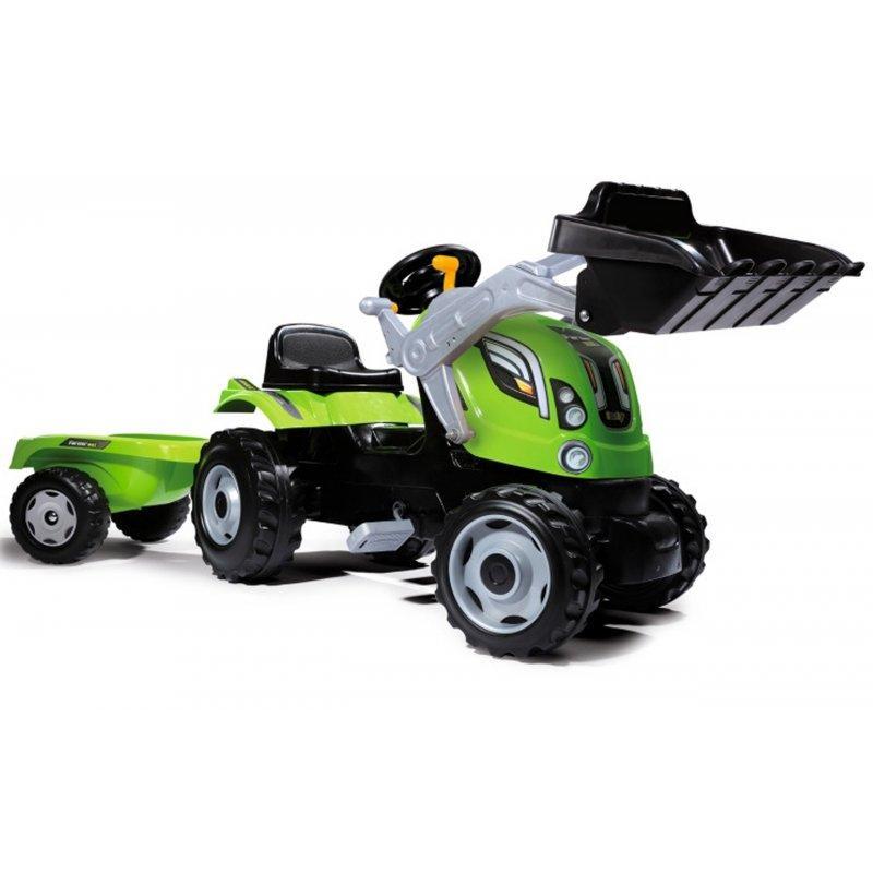 Трактор с прицепом и ковшом Farmer Max Smoby 710109