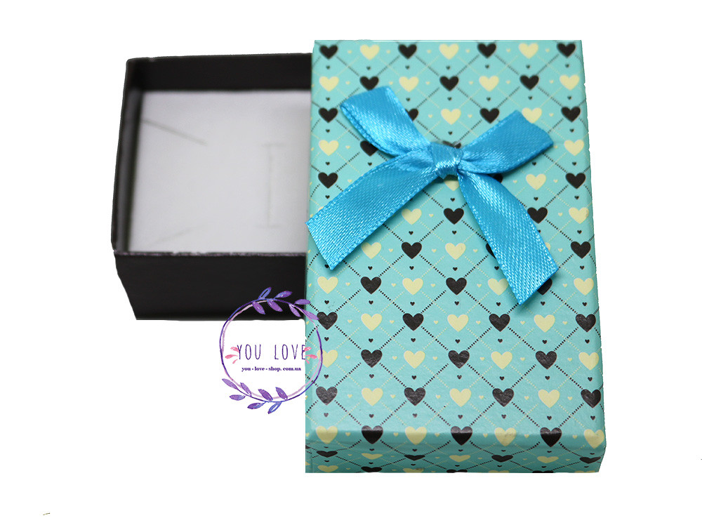 Коробочка для бижутерии Романтичная  Коробочка  Романтичная Мятная