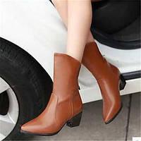 Для женщин Ботинки Удобная обувь Армейские ботинки Полиуретан Зима Повседневные Удобная обувь Армейские ботинки На плоской подошвеЧерный 05685295