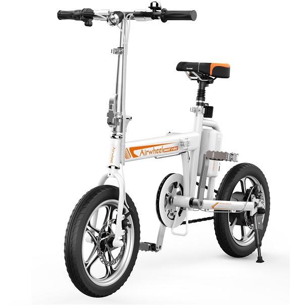 Электровелосипед AIRWHEEL R5T 214,6WH (белый) - Базкар в Киеве