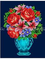 Схема для вышивки Букет с розами