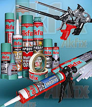 Піни монтажні, силікони, герметики, рідкі цвяхи, будівельна хімія