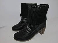 Reiker _Германия _стильные современные ботиночки _утепленные _ 40р_ст.26 Н57