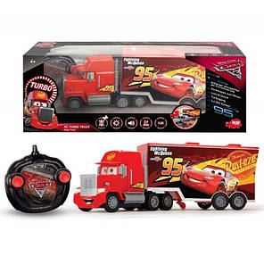 Игрушечный Трейлер Turbo Mack (Макуин) 46 см Dickie 3089025, фото 2