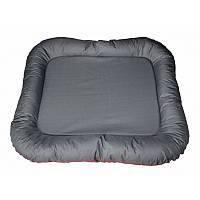 Лежак-понтон для собак гигантских пород Hard Gray 130x110см