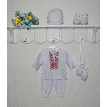 Комплект для мальчика Ивасик с вышивкой 62 см
