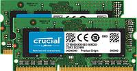 Оперативная память для ноутбука SoDIMM DDR3L 8GB (2x4GB) 1866 MHz CRUCIAL