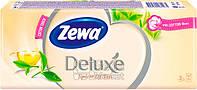 Носовые платочки Zewa Deluxe perfume 3 слоя, 10 * 10 (21х21см)