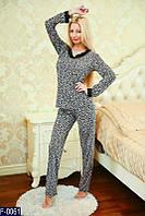 Женский Костюм для сна, пижама F-0061