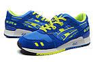 """Женские кроссовки Asics Gel Lyte 3 """"Blue"""" (в стиле Асикс Гель Лайт 3) синие, фото 2"""