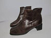 GABOR Ledy _Кожаные ботинки _Германия _4р-ст.24см Н56