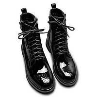 Для женщин Ботинки Удобная обувь Армейские ботинки Микроволокно Осень Зима Повседневные Удобная обувь Армейские ботинки На плоской подошве 05731818