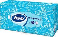 Косметические салфетки Zewa Everyday, 2 слоя, 100 шт