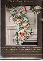 Набор для вышивания Сапожок  Dimensions 70-08854 Зачарованные Украшения Enchanted Ornament Stocking
