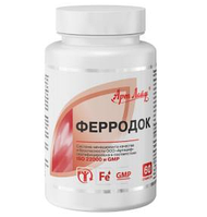 ФерроДок - устранение кислотного голодания клеток и нормализация клеточного дыхания!