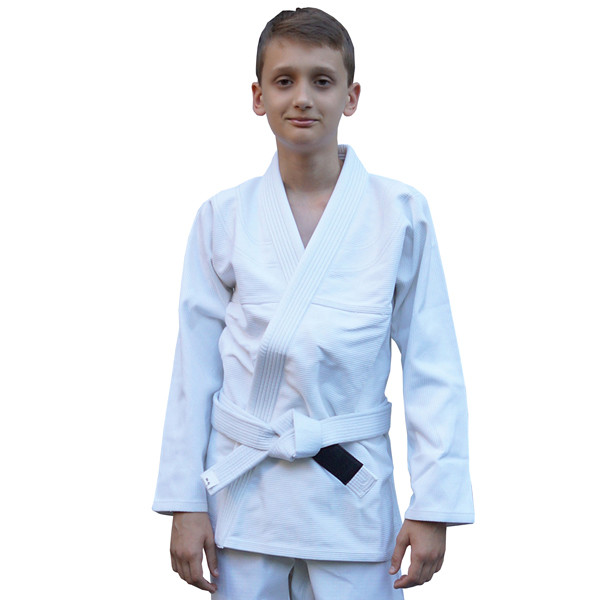 Кимоно детское для бразильского джиу-джитсу FIREPOWER Standart 2.0 Белое
