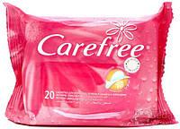 Carefree Влажные салфетки для интимной гигиены 20шт