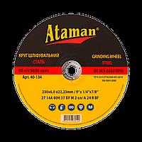 Зачистные круги по металлу Ataman Ф115, профиль 1