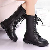 Для женщин Ботинки Удобная обувь Кожа Весна Осень Повседневные Удобная обувь На плоской подошве Белый Черный Красный 2,5 - 4,5 см 05725638