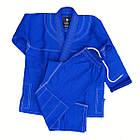 Кімоно дитяче для Бразильського джиу-джитсу FIREPOWER Standart 2.0 Синій, фото 2