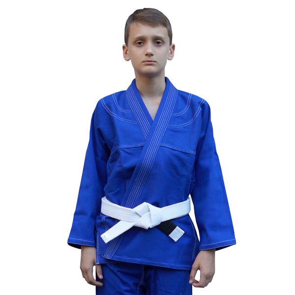 Кімоно дитяче для Бразильського джиу-джитсу FIREPOWER Standart 2.0 Синій
