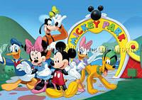 Печать съедобного фото - А4 - Вафельная бумага - Микки Маус и его Друзья №12, фото 1