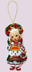 Кукла Украина из фетра