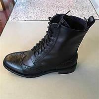 Для женщин Мокасины и Свитер Удобная обувь Свиная кожа Весна Повседневные Удобная обувь На плоской подошве Черный Темно-русый Менее 2,5 см 05705615