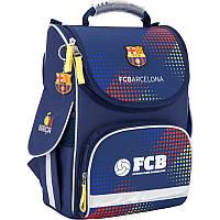 Рюкзак Kite BC17-501S FC Barcelona школьный каркасный детский  для мальчиков 34 см х 26 см х 13 см