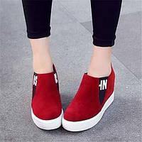 Для женщин Ботинки Удобная обувь Армейские ботинки Полиуретан Зима Повседневные Удобная обувь Армейские ботинки На плоской подошвеЧерный 05684832