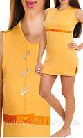 Ночная рубашка  для девочки на кокетке IKI YLDIZ, 1581, фото 1