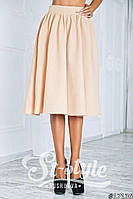 Легкая летняя юбка ниже колен