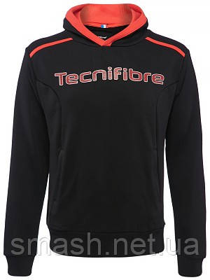 Толстовка Tecnifibre Men's Fleece Hoodie black