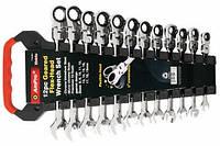 T42382 Набор ключей комбинированных с механикой свободного хода (10-19мм), 7 предмета