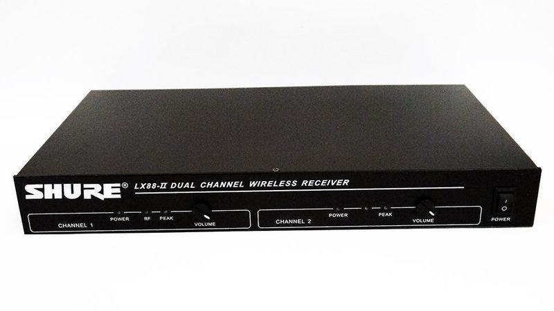 Вокальная радиосистема SHURE LX-88-II База + 2 радиомикрофона
