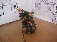 Фонтанчик настольный Гномы у колонки с мельницей