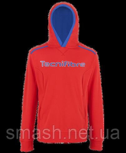 Толстовка Tecnifibre Men's Fleece Hoodie red