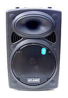 Колонка с микрофоном AT-Q12 (USB/Bluetooth/Аккумулятор/Светомузыка)