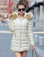 Пальто Простое Обычная На подкладке Для женщин,Однотонный На каждый день Большие размеры Хлопок Полиэстер Полиэстер Хлопок,Длинный рукав 05341428