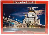 Пазл Касторленд на 1500 деталей Храм Христа Спасителя