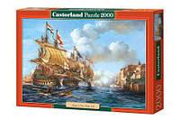 Пазлы Битва Порто Белло 1739 г Castorland 2000, С-200245