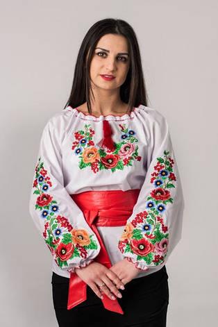 Вышиванка с цветочным узором Диана , фото 2