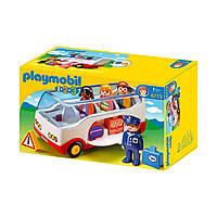 Игровой набор «Автобус в аэропорту» серии «1.2.3» 6773 ТМ: Playmobil