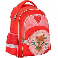 Рюкзак школьный KITE Popcorn Bear 525 для девочки