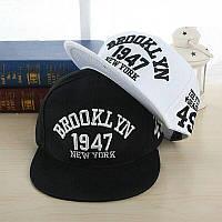 Кепка снепбек Brooklyn с прямым козырьком, Унисекс