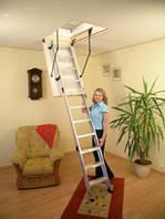 Складная чердачная лестница Oman Alu Profi