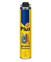 Піна монт. Plus Super PRO проф. 750мл/ 850г/ Плюс