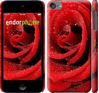"""Чехол на iPod Touch 6 Красная роза """"529c-387-6129"""""""